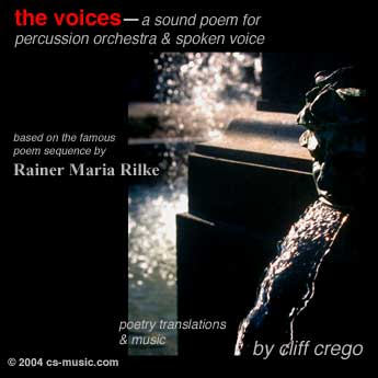 the voice: a sound poem title page